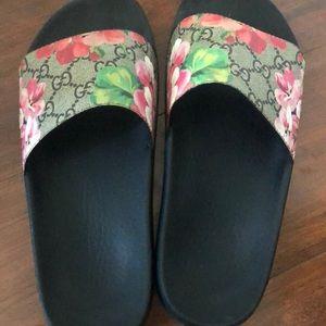 Gucci floral Slide Sandals